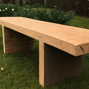 oak bench - greenwood direct